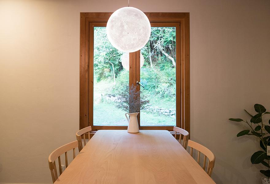 月の宿 living&kitchen
