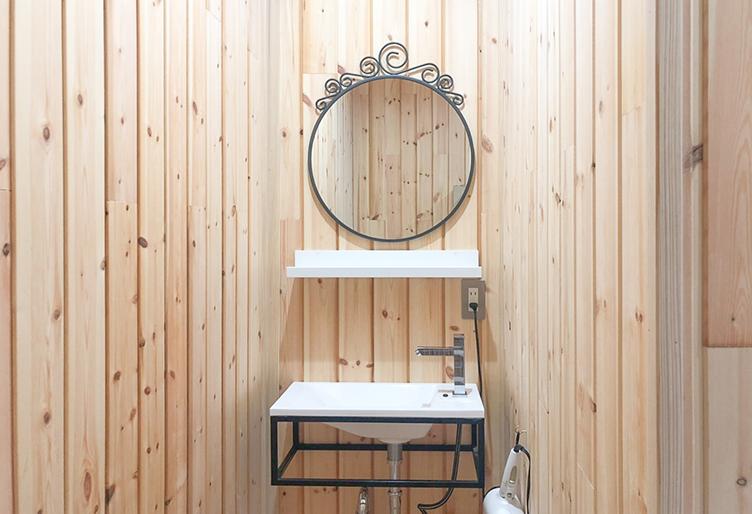 月の宿 shower&woshroom